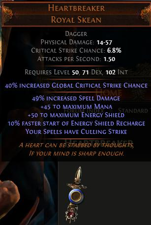 POE IIR High Dropping Rate: 625% - 80% All Elemental Resistance + 8 Auras