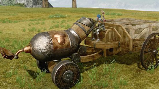 archeage farm wagon guide: crafting useful vehicle for transporting and watering