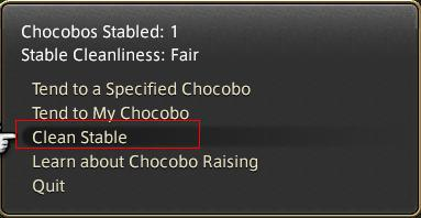 how to raise and train chocobo in ff14: arr patch 2.3