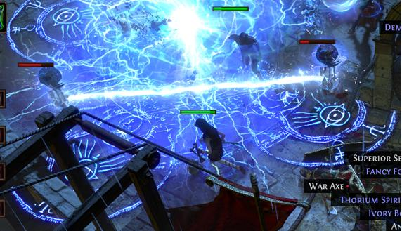 path of exile new skills: herald of thunder and lighting touch preview