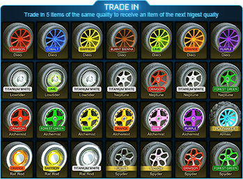 Drop Exotic Trade Up (1 Random Piece) x 5