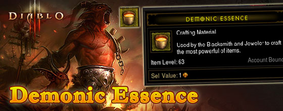 Diablo III Demonic Essence