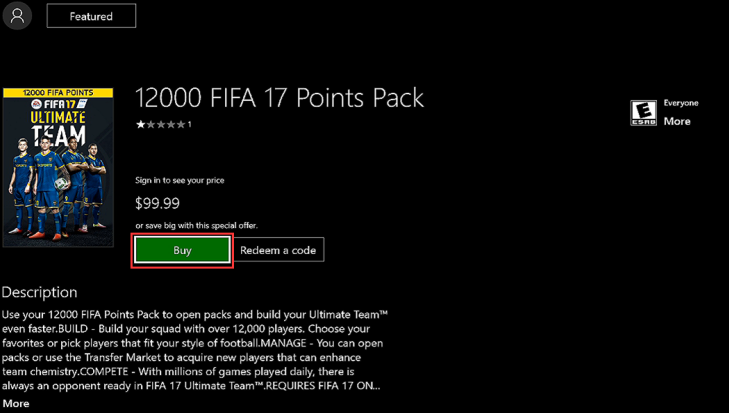 How To Buy Fifa Coins With Xbox Account Balance?
