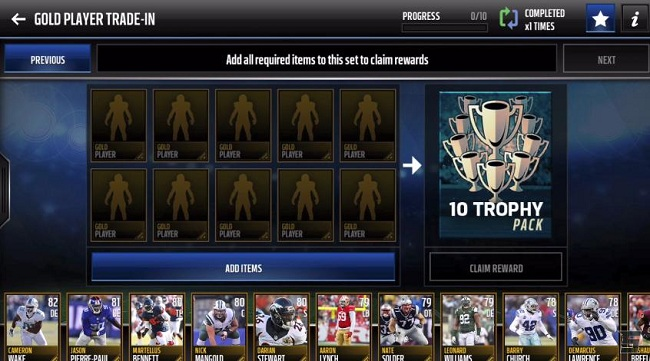 best madden mobile set
