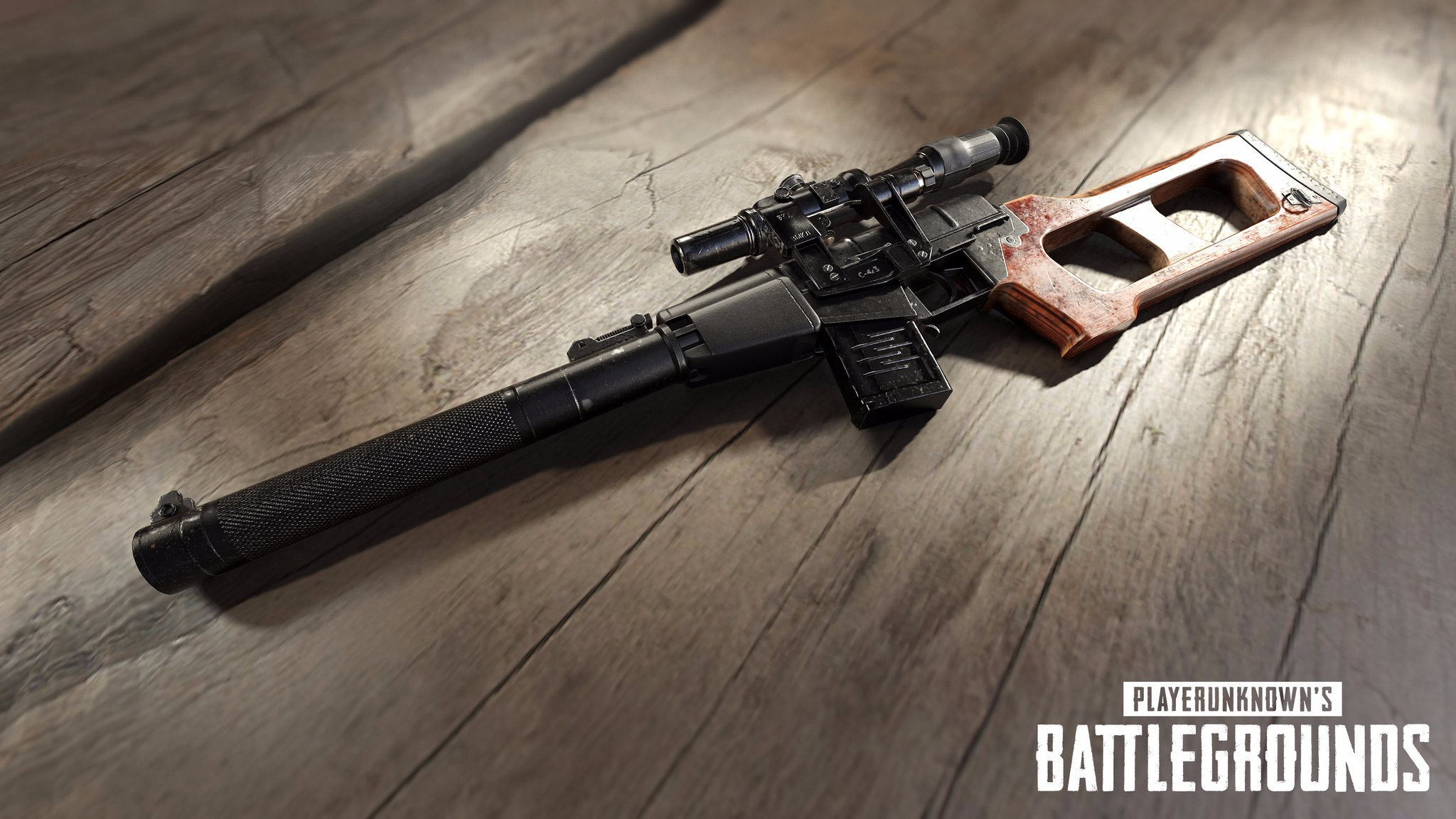 Pubg Wallpaper Weapon: PlayerUnknown's Battlegrounds New Silent Miracle Weapon