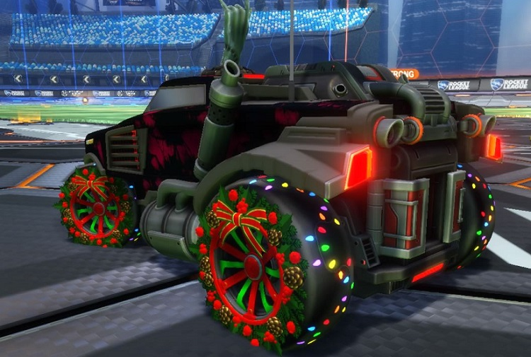 Rocket League Christmas Crate - Christmas Wheels