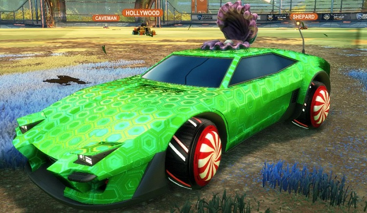 Rocket League Christmas Crate - Christmas Wheels 1