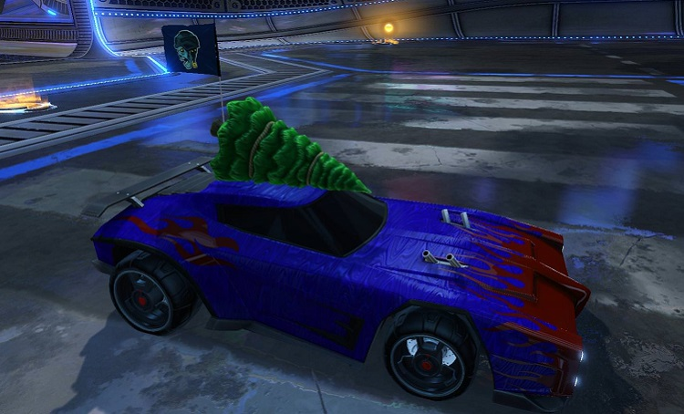 Rocket League Christmas Crate - Christmas Topper