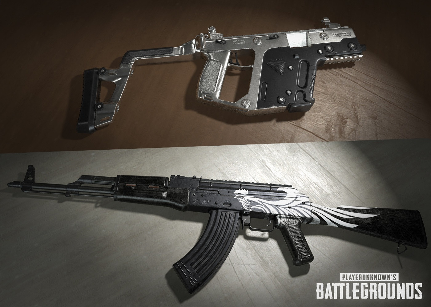 playerunknown's battlegrounds - pubg guns & weapons skins